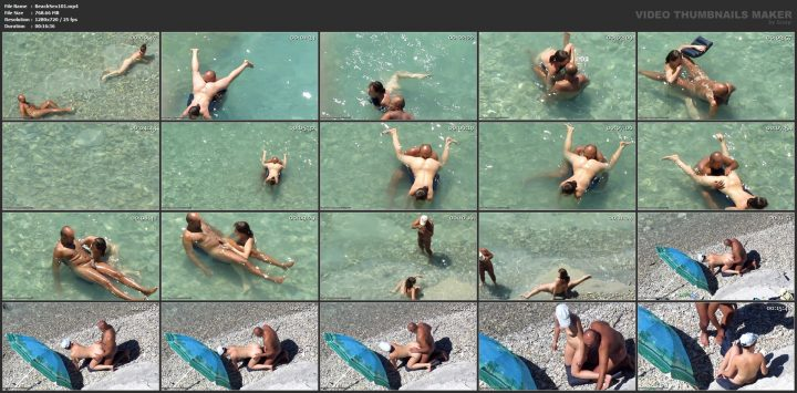 Extreme beach sex