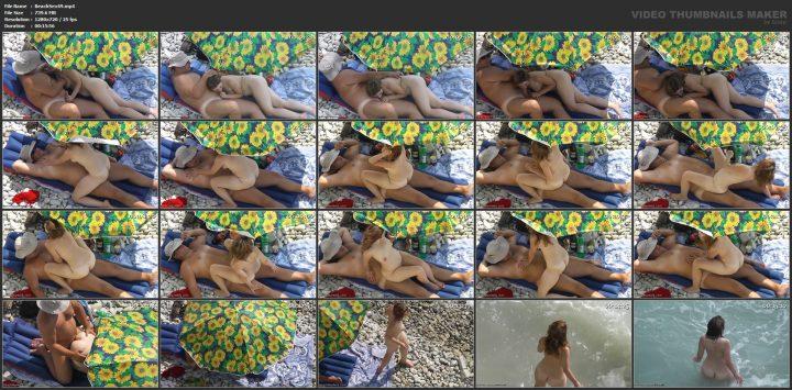 Public beach sex