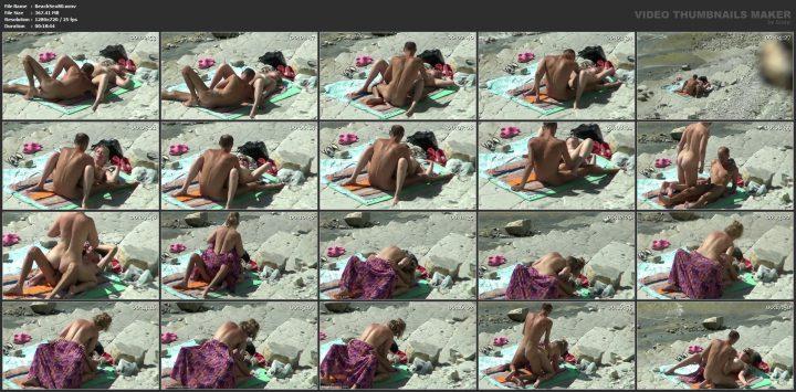 Sex in baltic beach