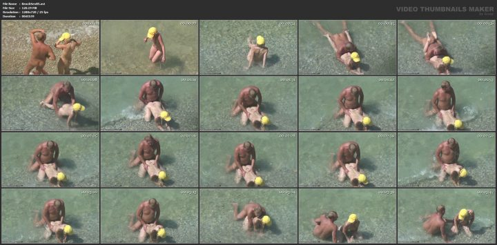 Sucking cock on the beach