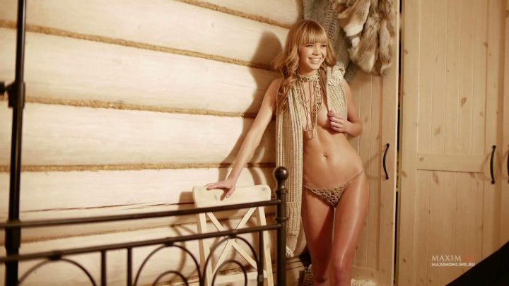 Alla Mikheeva MAXIM photo session of Russian actress and TV-presenter