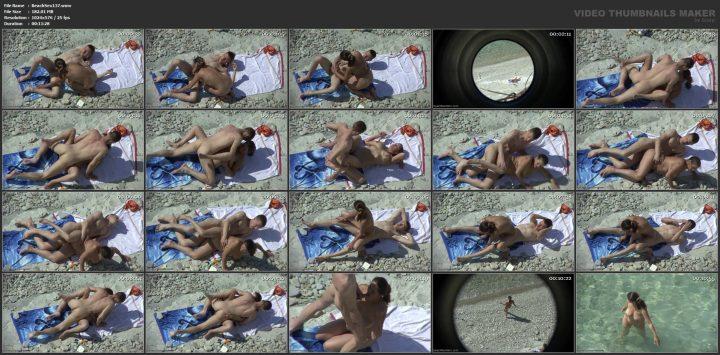 Extreme art sex of horny couple on beach