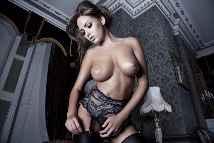 Sabine Jemeljanova Sexy Lingerie