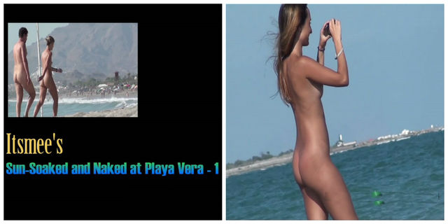 Itsmee`s sun-soaked and naked at the playa vera 01HD