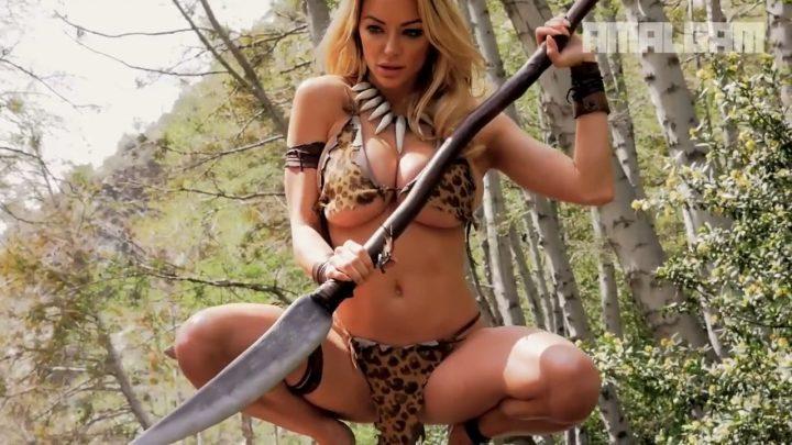 Lindsey Pelas Jungle woman