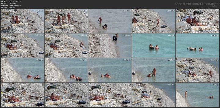 Guy fucks his teen blonde cousin on beach