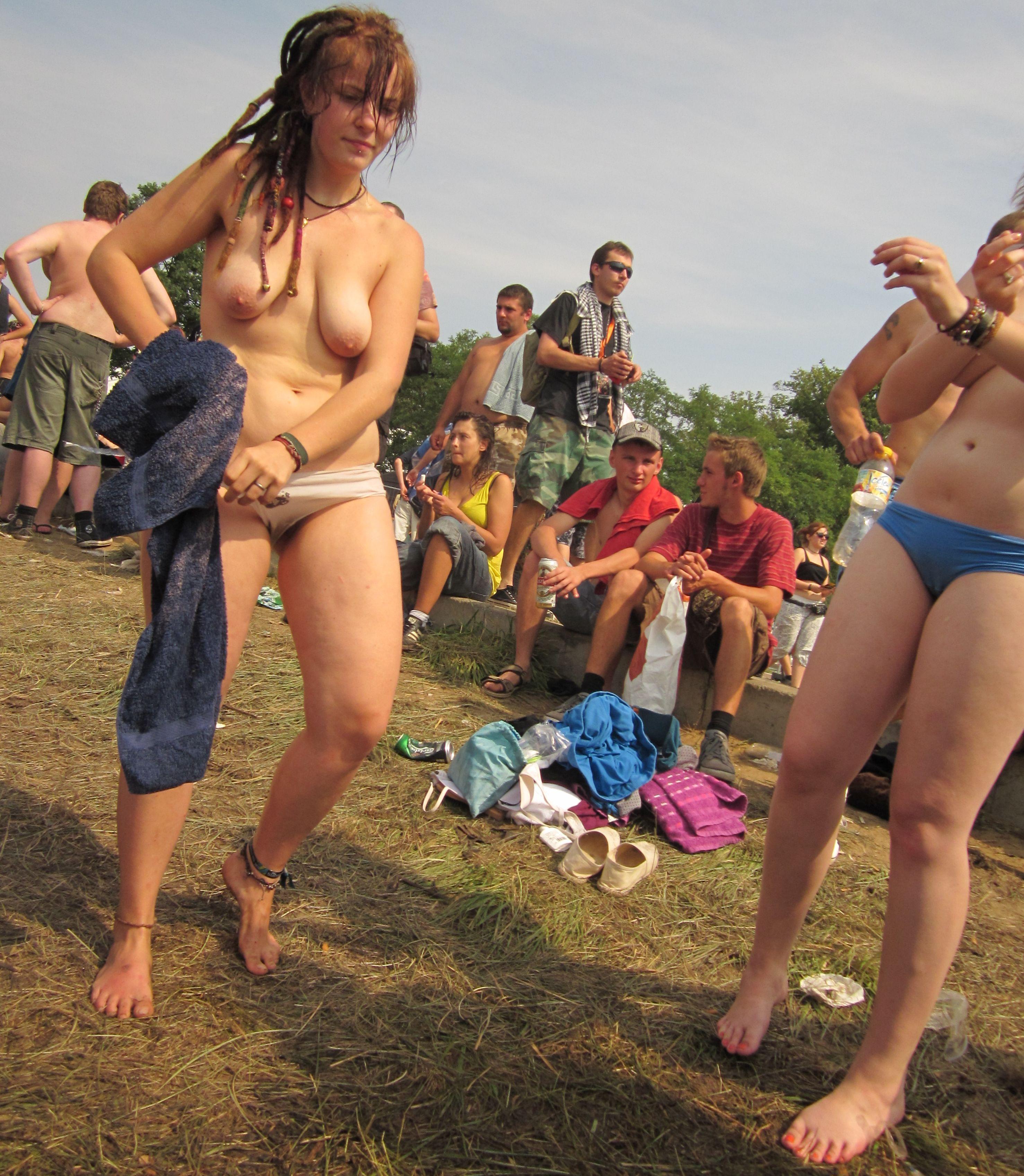 Teen public nude Bikini Waxing