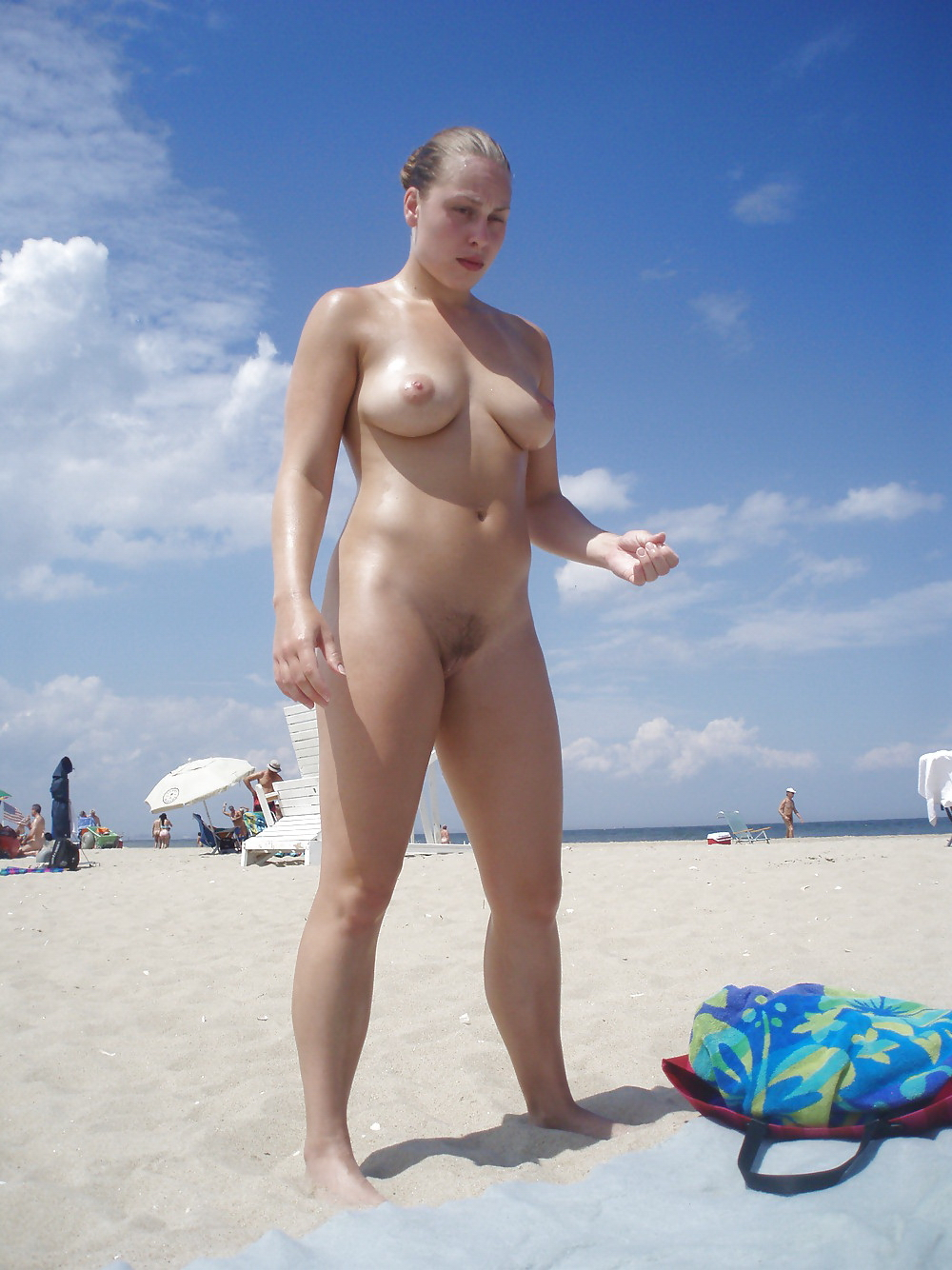 Beach fkk nude never