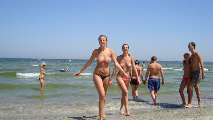 Nudism girls beach FKK