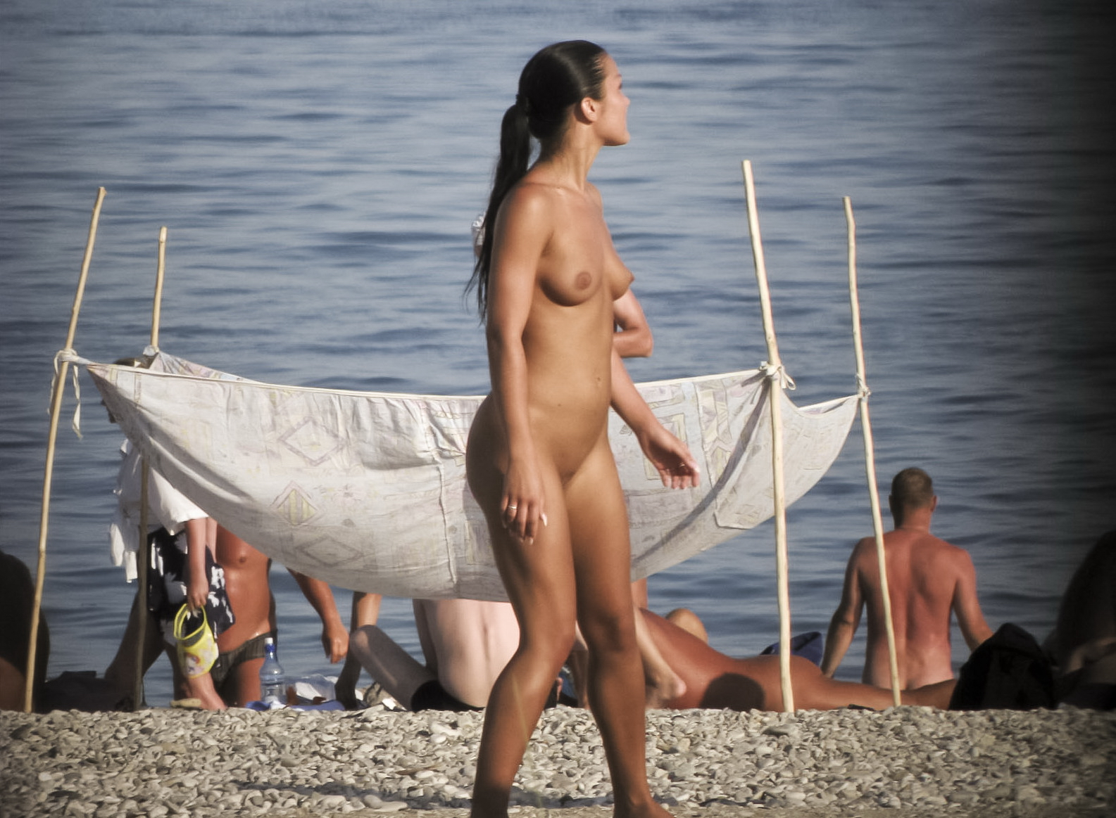 Think, Teen girls nude at beach will