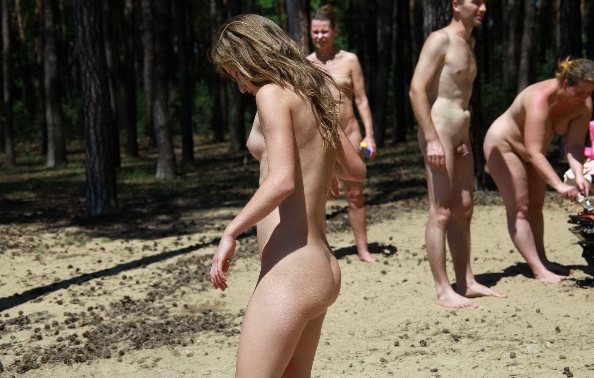 Voyeur pageant naturist are