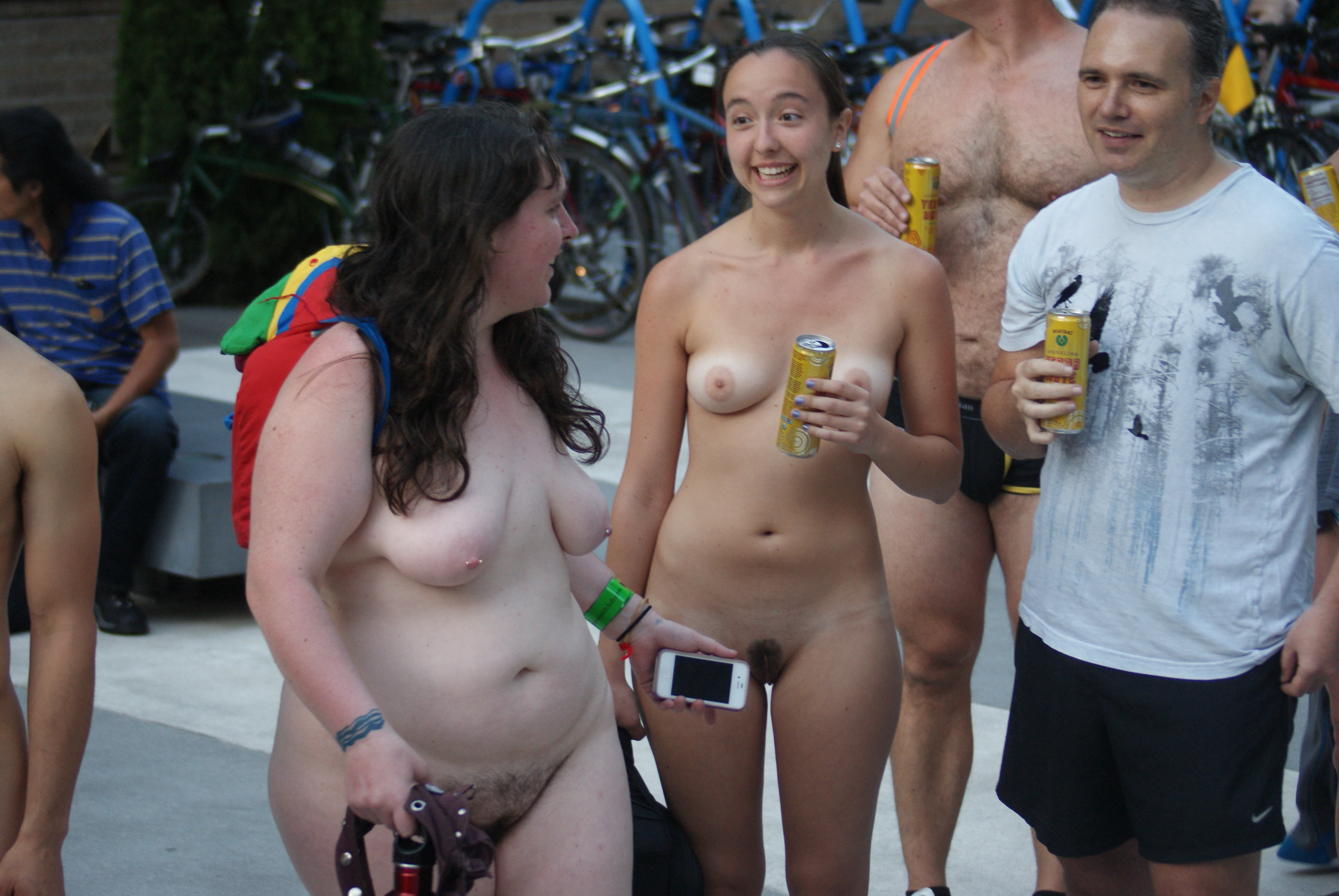 Your tits public nudity family erotic fingering