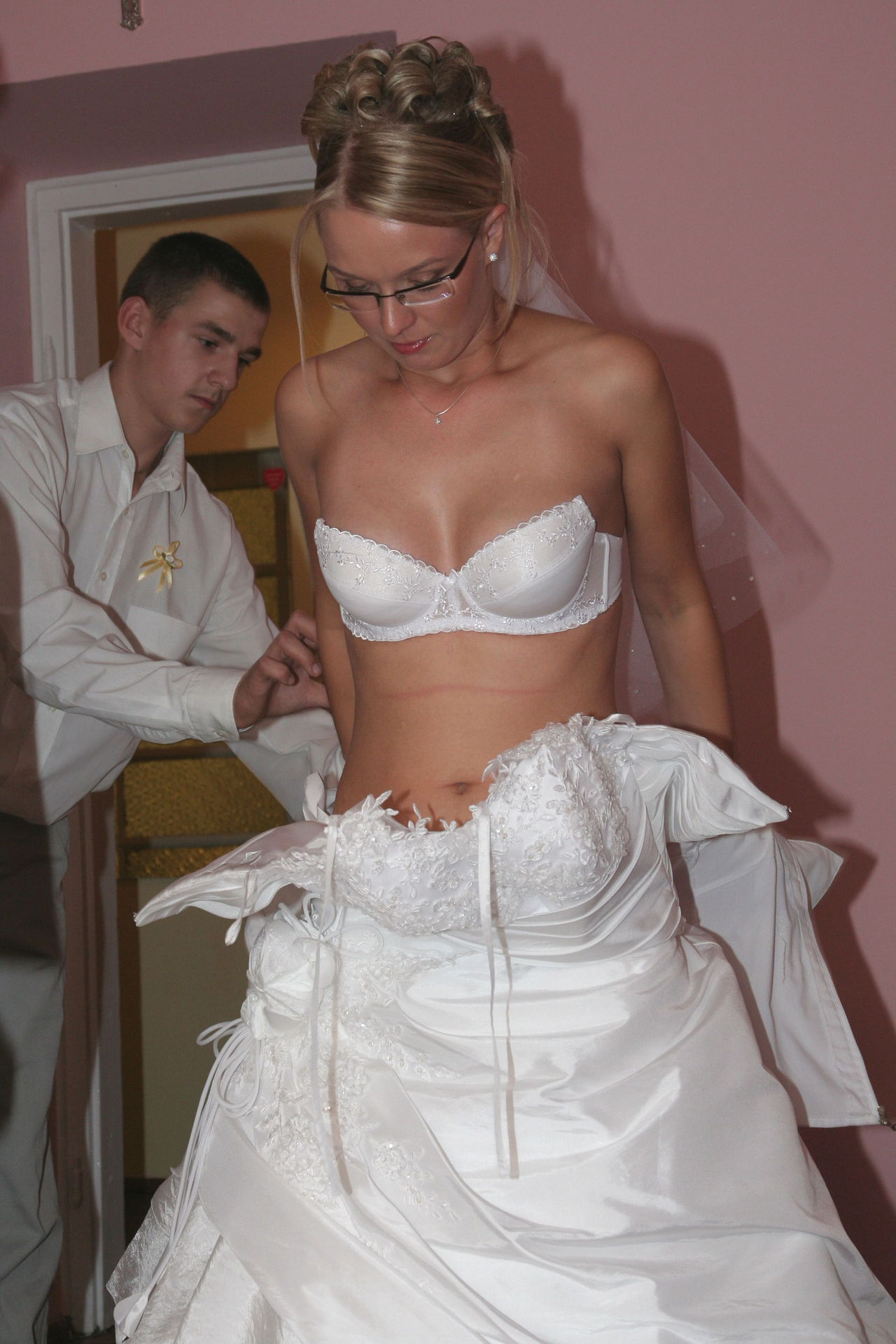 German Bitch fuck the Bridegroom