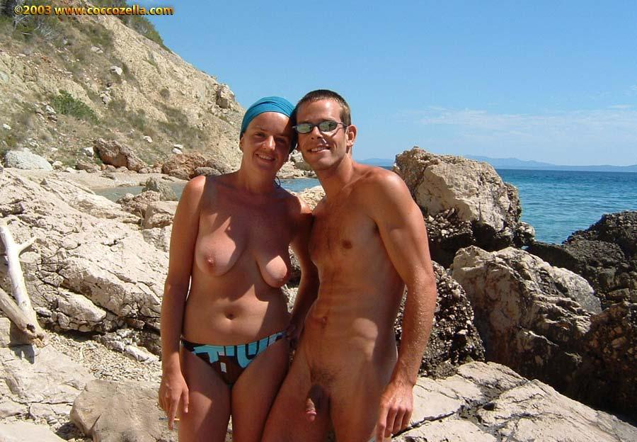 Nude vavi on beach