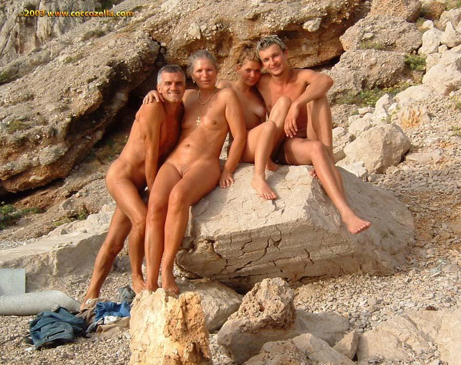 Any Naturiste nude naked beach long