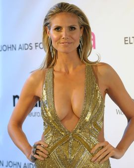 Heidi Klum Nudes Will Give You a Good Time