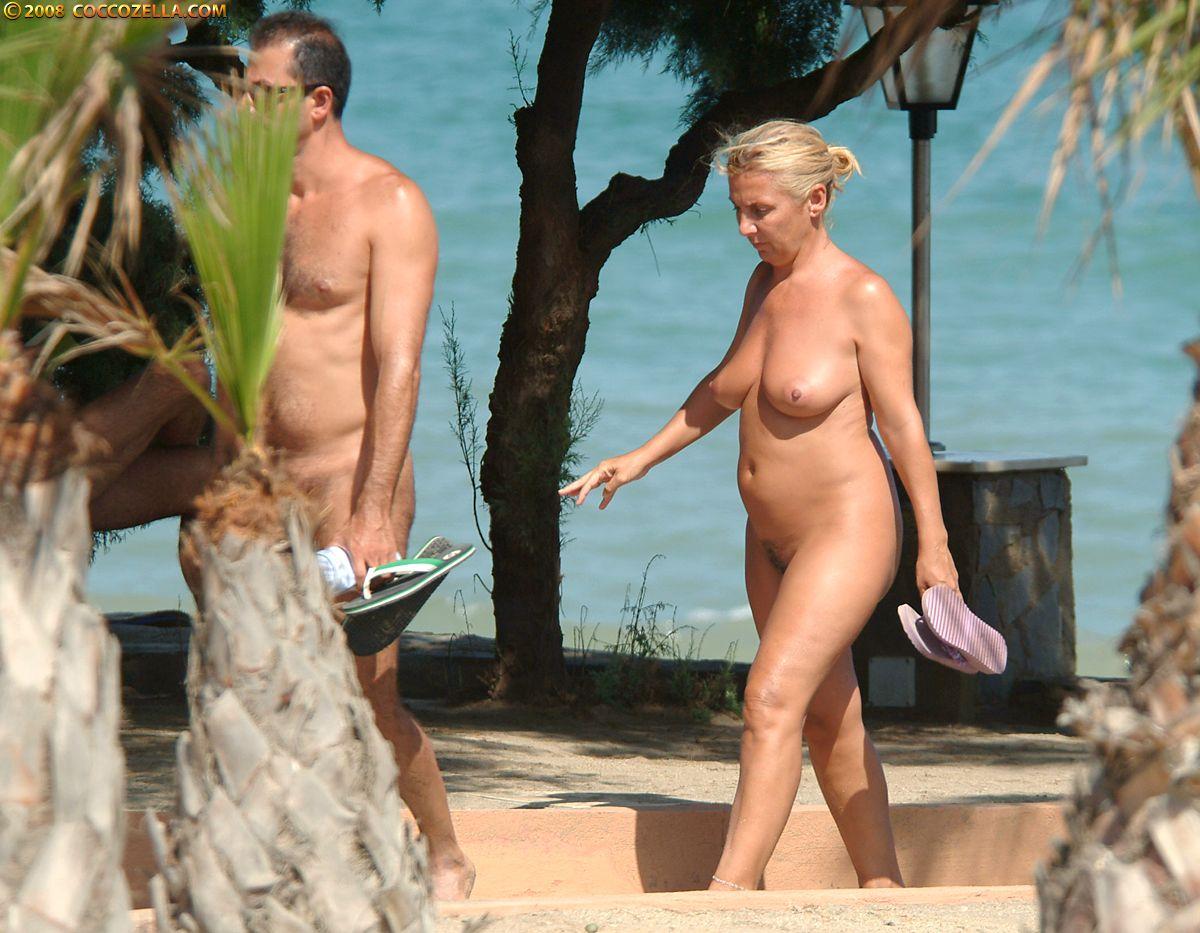 Nude girl in panties