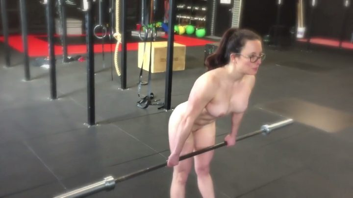 Naked Girl Hard Sport