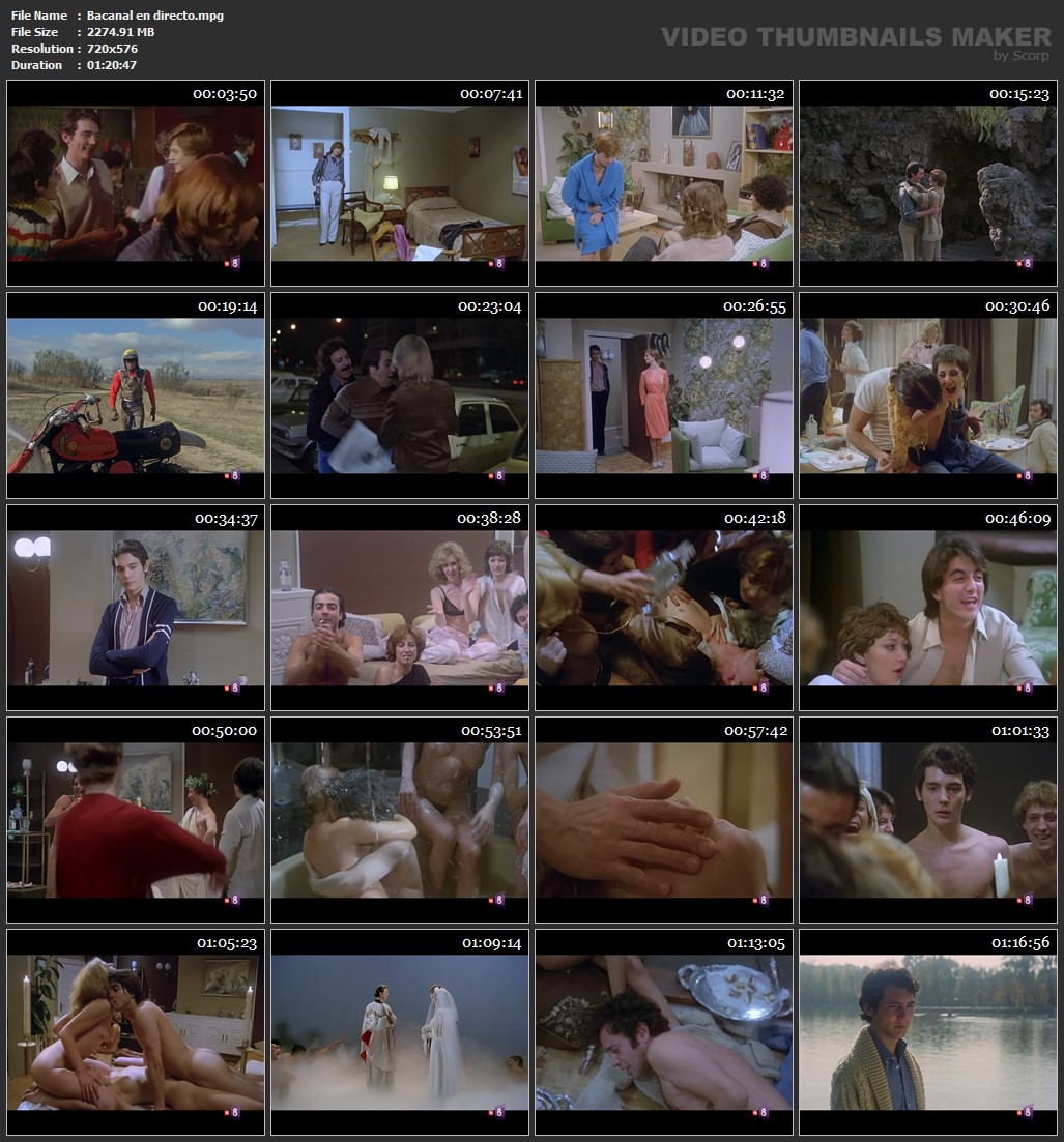 Bacanal en directo 1979 2