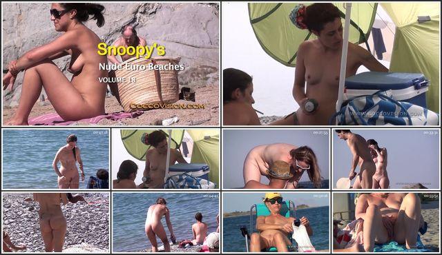 Snoopy's Nude Euro Beaches 18 HD