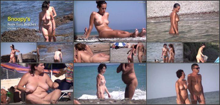 Snoopy's Nude Euro Beaches 19 HD