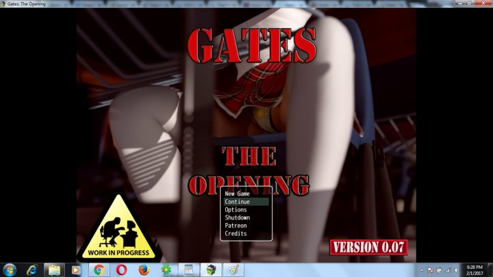 Gates The Opening [Version 0.07 by Dede Kusto] + Saves & Full Walkthrough