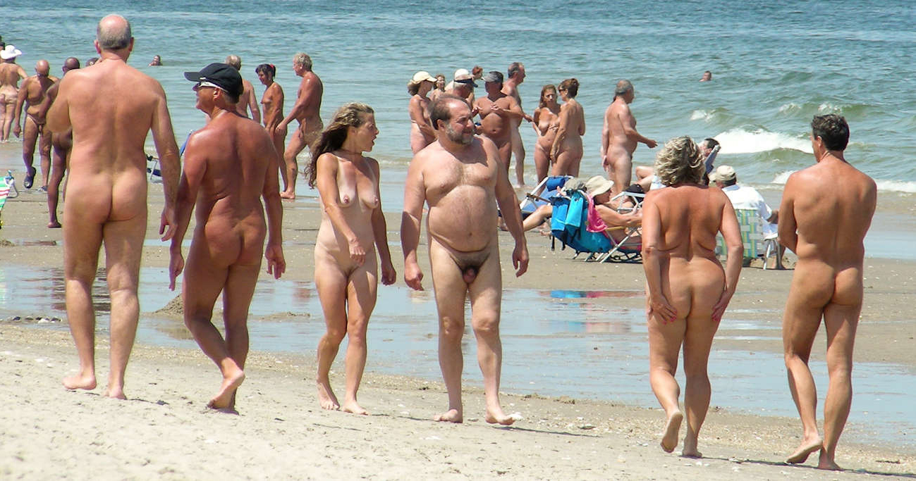 Nudist family beach speaking, would