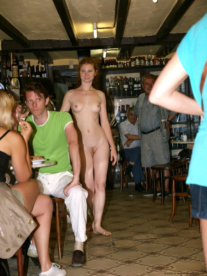 Opinion you woman nude in public place with you