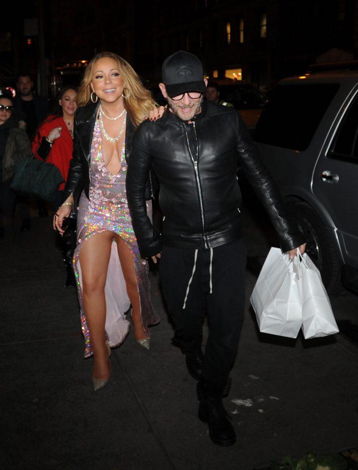 Mariah Carey No Pants?