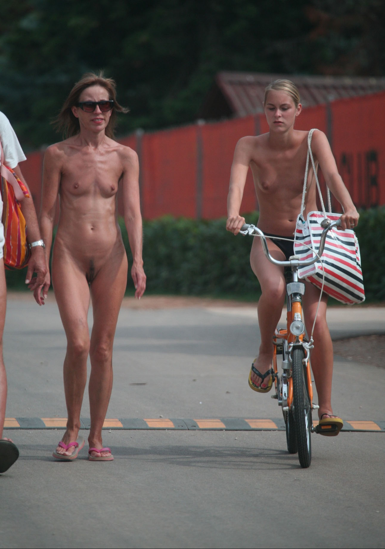 Nudity and protest