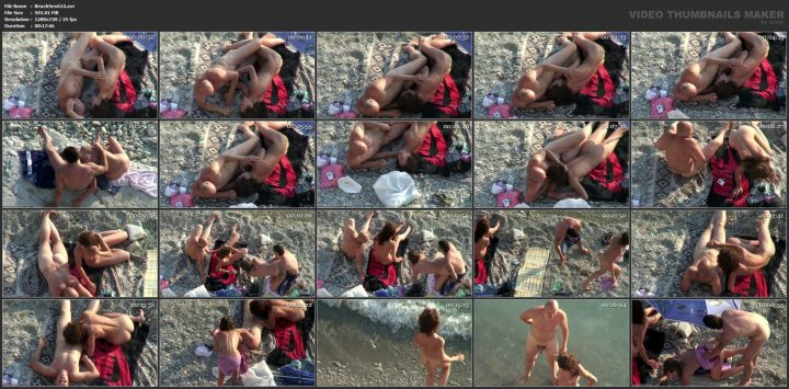 Voyeur sex in public places beach