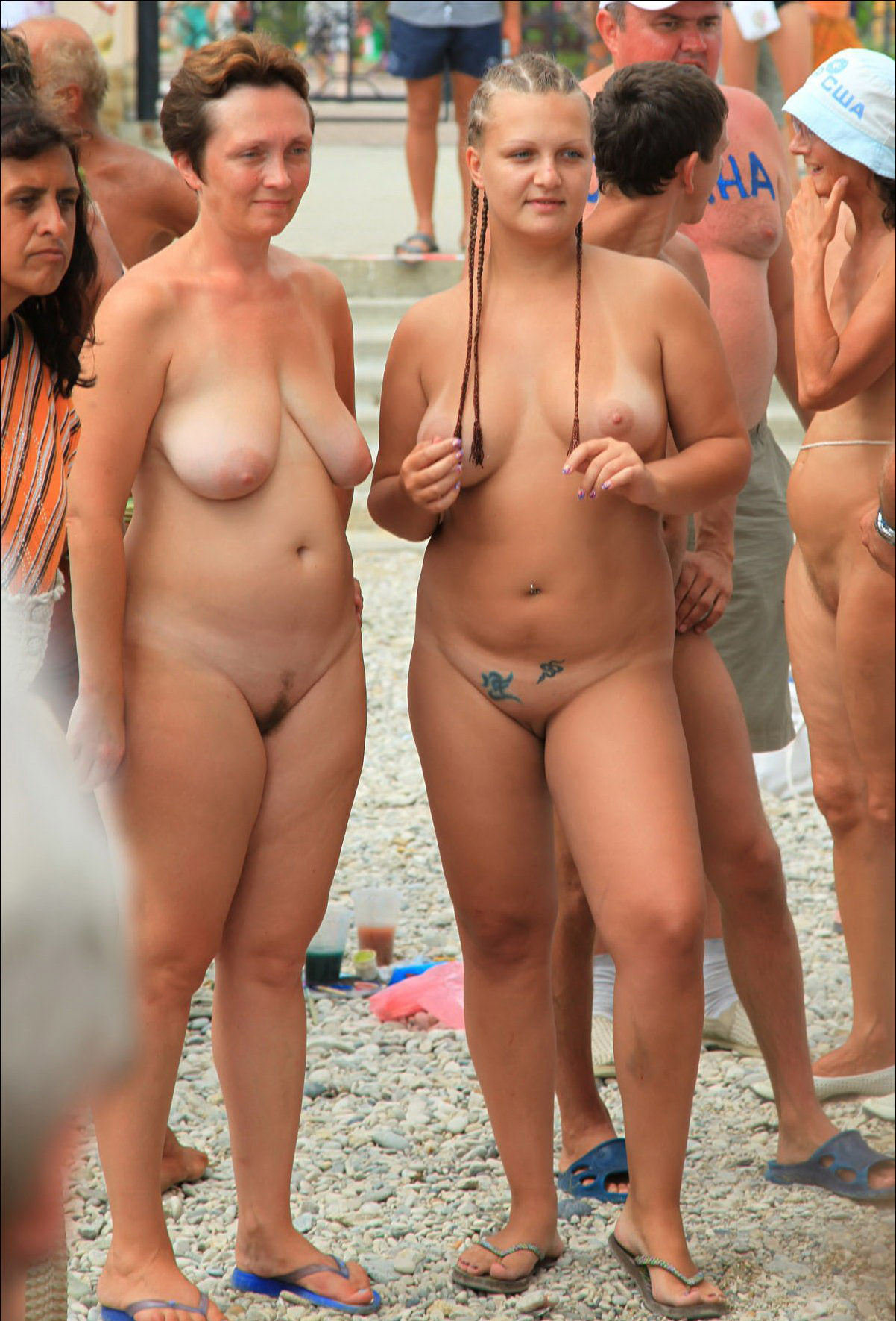 Nudists Family Nude Beach - Voyeurpapa-3319