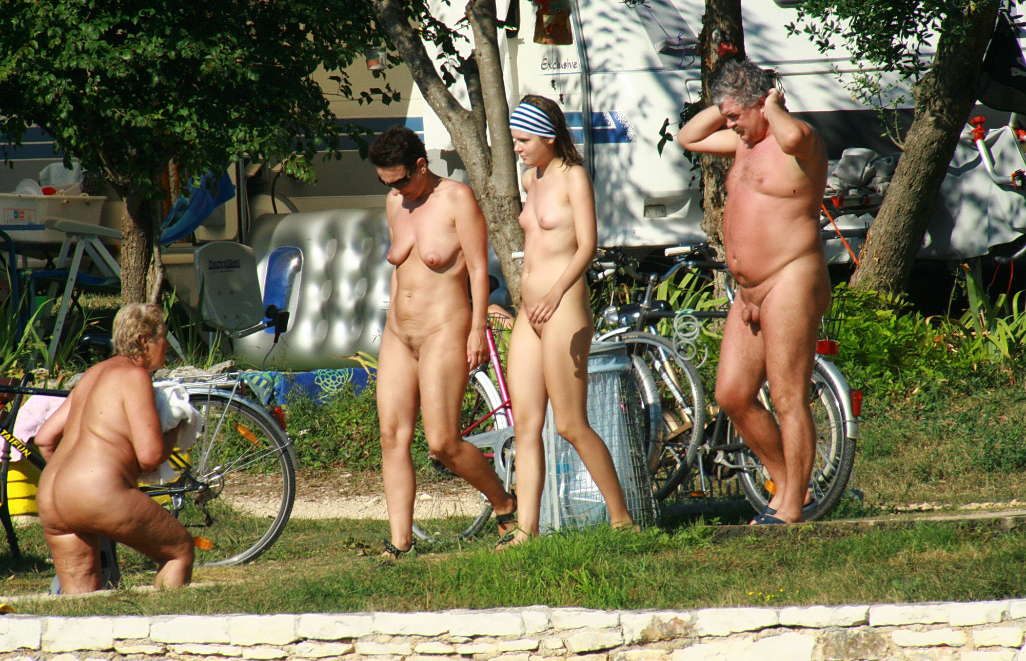 Act Nudist Club Helps Fire