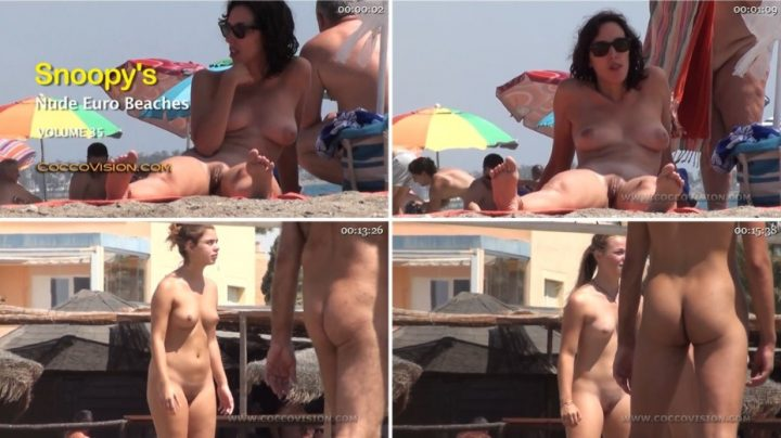 Snoopy's Nude EuroBeaches 35 HD
