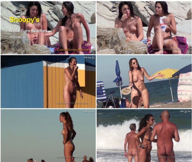 Snoopy's Nude EuroBeaches 36 HD