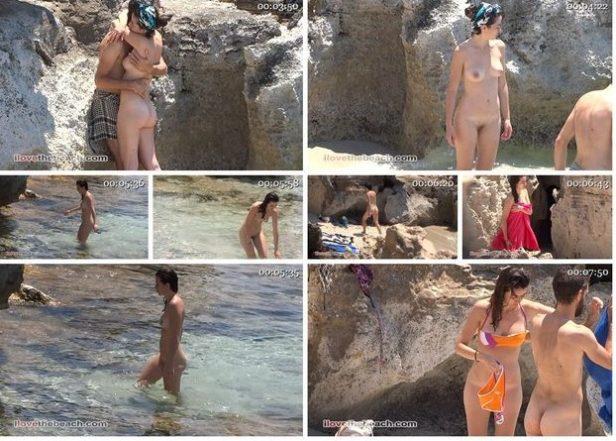 I LOVE THE BEACH NUDISM