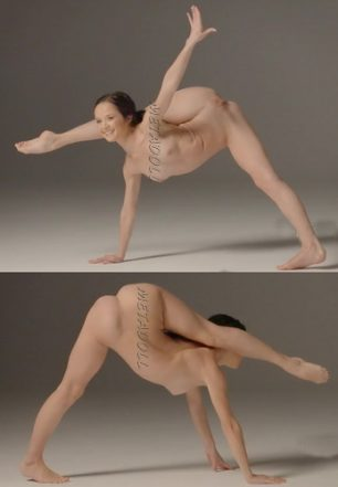 Sexy twins – nude acrobatic positions