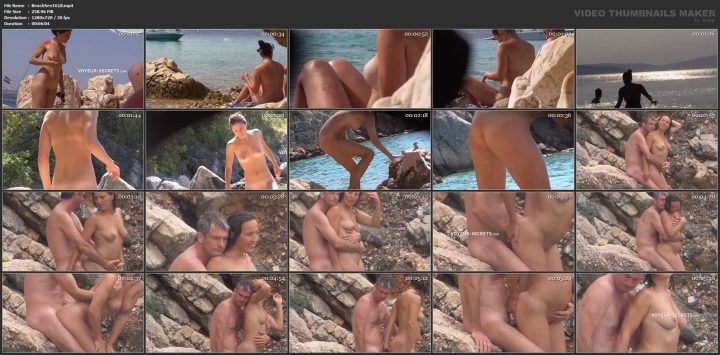 Sex in spanish beach