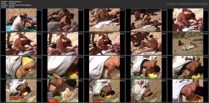 Amateur beach sex