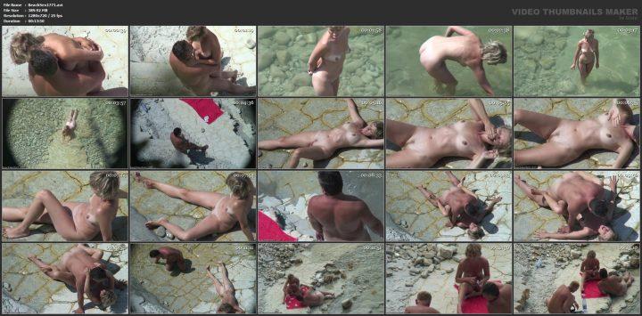 Voyeur beach sex