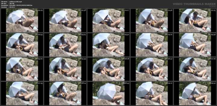 Norwegian couple public sex nude