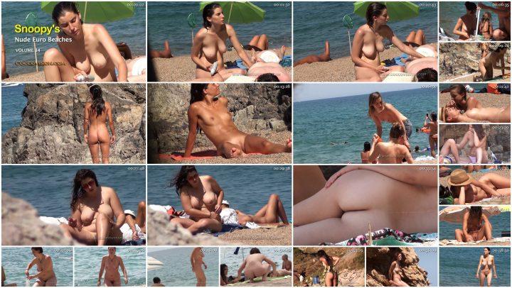 Snoopy's Nude EuroBeaches 34 HD
