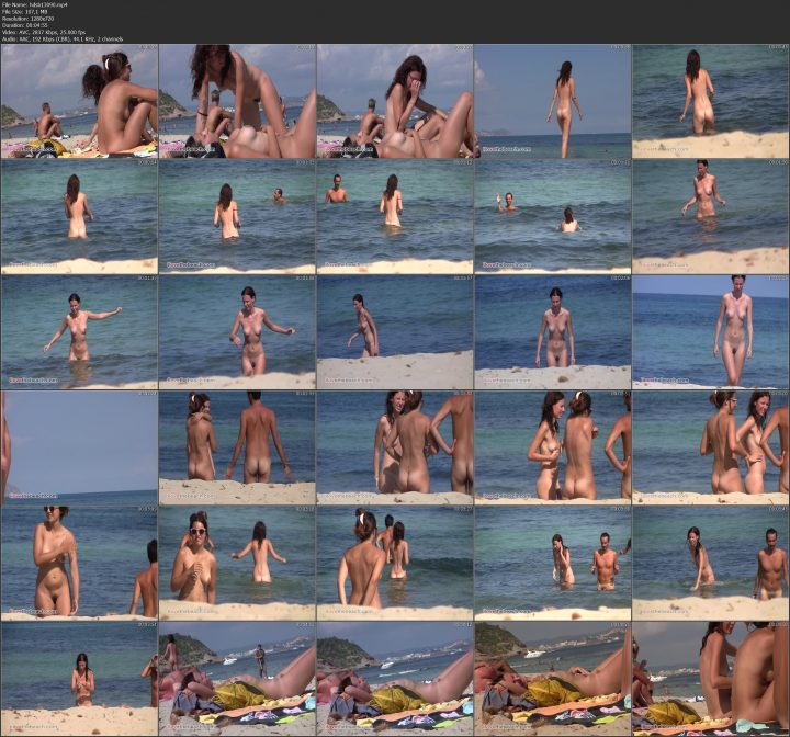 Beach video south of France