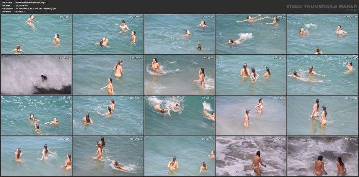 Hot Teens Fun On The Beach