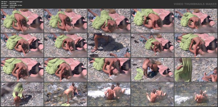 Fucking my younger wife by the beach