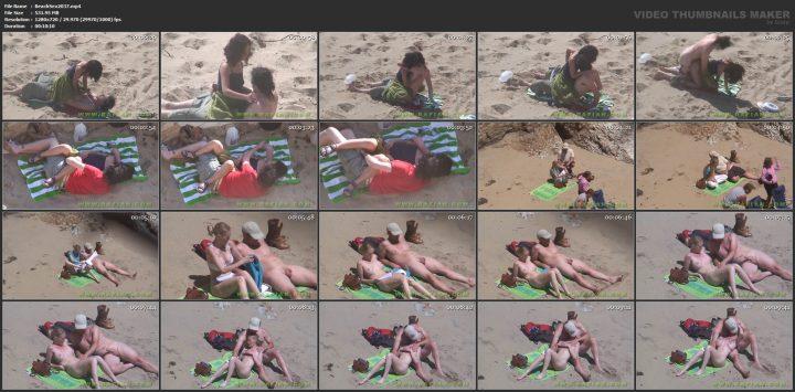 Sex spy spanish beach