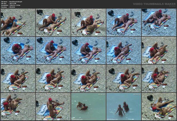 Amateur beach sex