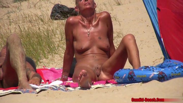 Big tits nudist horny milfs beach