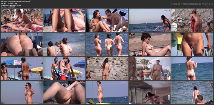 Snoopy Nude Euro Beaches 17