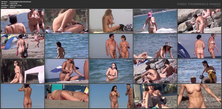 Snoopy Nude Euro Beaches 18